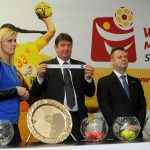 Macedonian Handball Federation press activities: Draw event of the European Handball Championship Skopje 2015